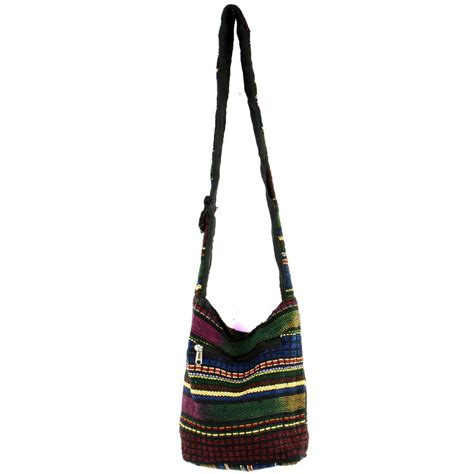 Get Festival Ready With The Mini Purse by Hippie Festival Mini Sling Hobo Shoulder Bag Heavy Woven