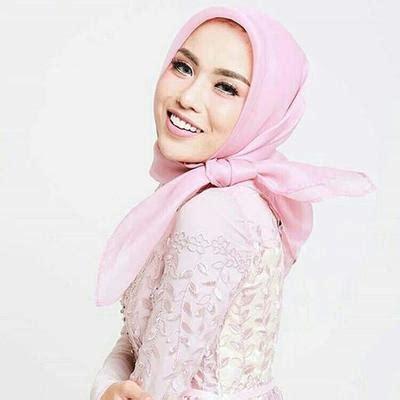 tutorial organza hijab ini lho pilihan atasan brokat hijab kekinian yang lagi
