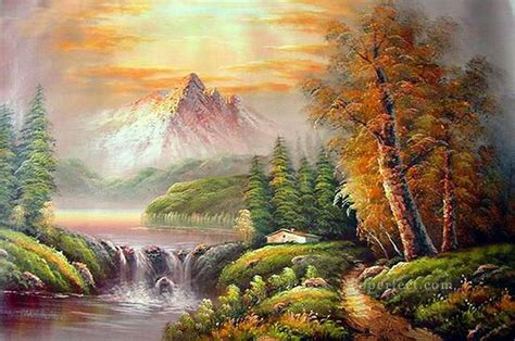 bob ross style paintings for sale cheap freehand 17 style of bob ross painting in