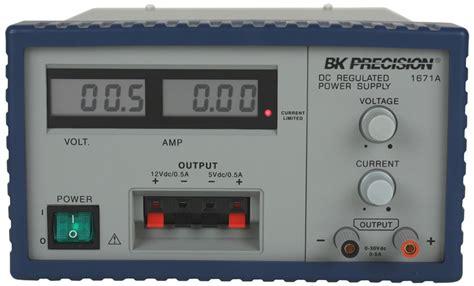 50 Mv Power Supply by Model 1671a Output 30v 5a Digital Display Dc