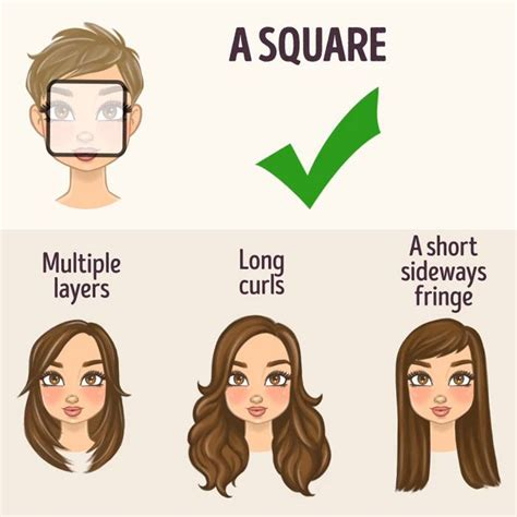 Find Your Hairstyle by The Right Hairstyle For Your Shape Hairstyles