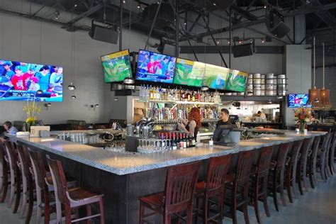 firestone public house can t see the big 8 quot i beam footrest around bar but its there firestone public house