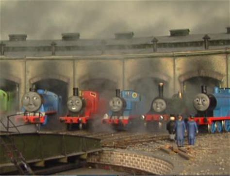 The Tank Engine Sheds by The Tank Engine Childrens Tv Jedi S Paradise