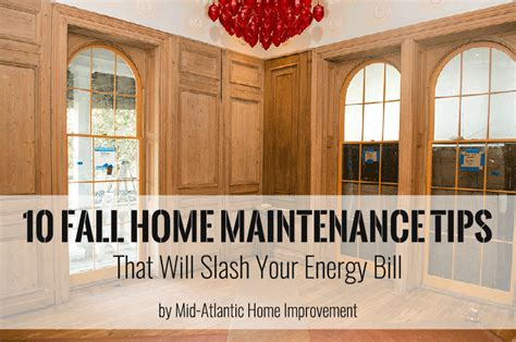 10 fall home maintenance tips that will slash your energy bill