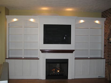 Built In Fireplace And Tv by Tdj Remodeling Peters Mo 63376 Angies List