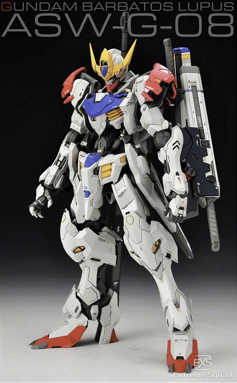 Bandai 1 100 Gundam Barbatos 1 100 gundam barbatos lupus ver exs conversion kit