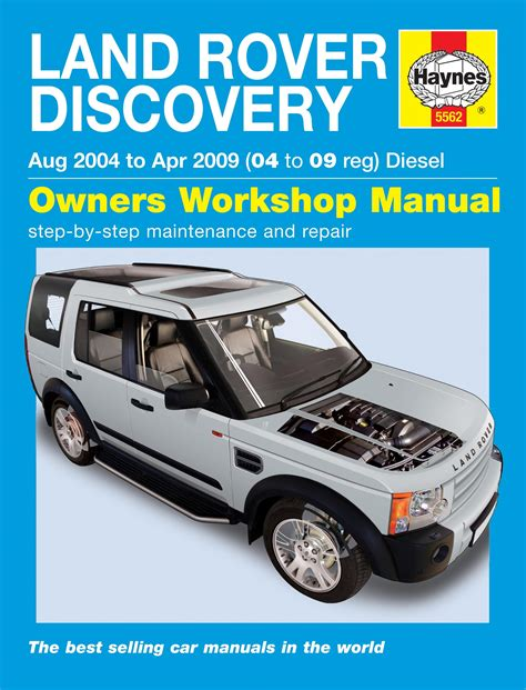 free service manuals online 2011 land rover discovery electronic valve timing haynes discovery 3 owners workshop manual paddock spares