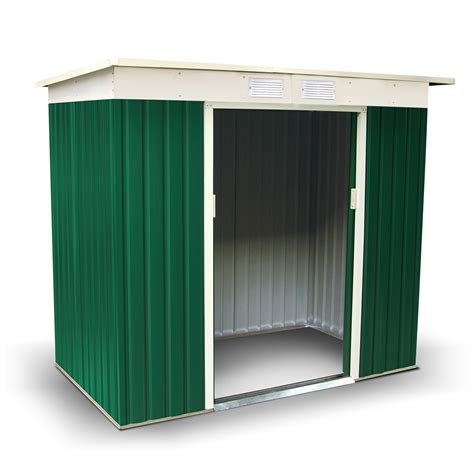 7 X 5 Metal Shed by Billyoh Boxer 7 X 5 Green Pent Metal Shed 163 189 00
