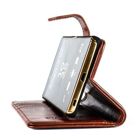 snakehive 174 sony xperia z5 premium leather wallet flip