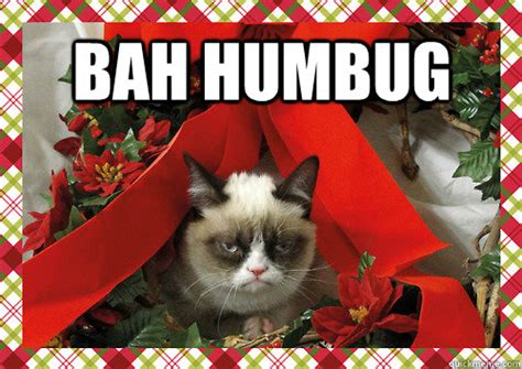 Bah Humbug Meme - bah humbug merry christmas quickmeme