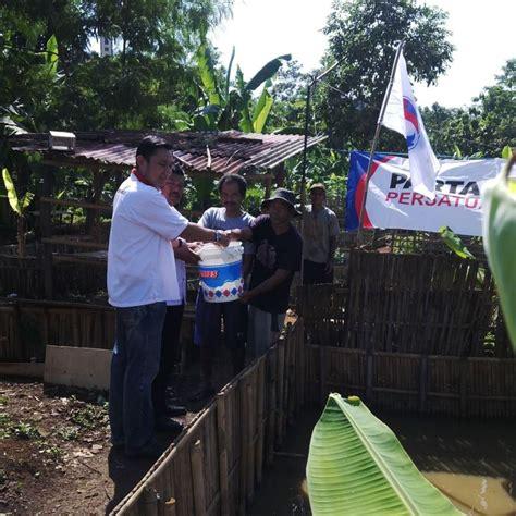 Bibit Lele Semarang perkuat ekonomi warga perindo bagikan ribuan bibit lele