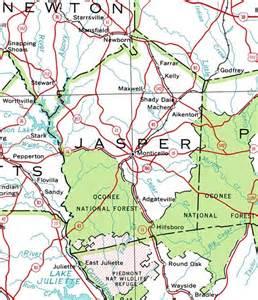 jasper county map county of jasper georgiainfo