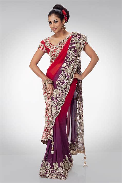 Indian Bridal Wear Saree Collection 2018 Pictures ... Indian Designer Bridal Dresses 2017