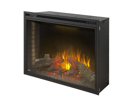 Built In Electric Fireplace Napoleon Bef40h Ascent Built In Electric Fireplace 40