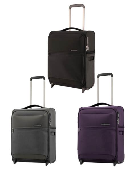 samsonite cabin luggage samsonite 72 hours dlx 50cm 2 wheel upright carry on