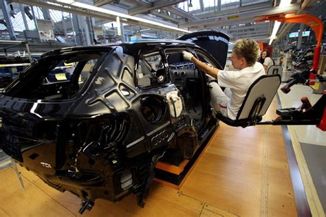 audi production line audi production line ahead of earnings zimbio