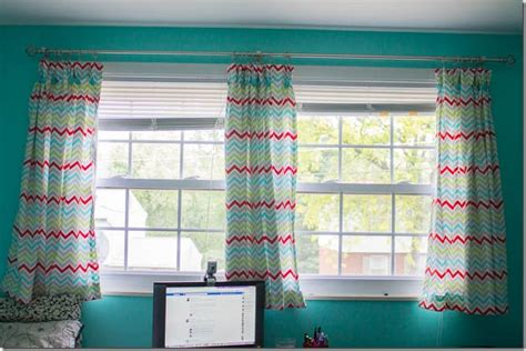 curtains for double windows craft room curtains i heart planners