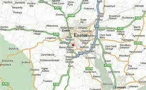 map uk exeter exeter location guide