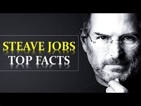 interesting facts steve jobs biography facts about steve jobs youtube