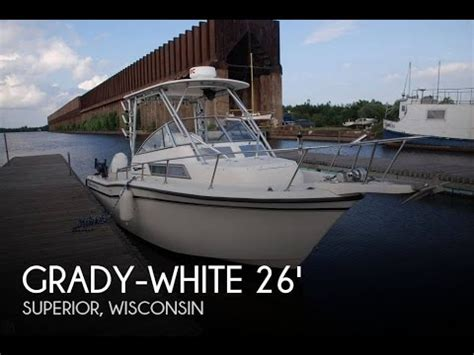 used grady white boats wisconsin unavailable used 1995 grady white 268 islander in