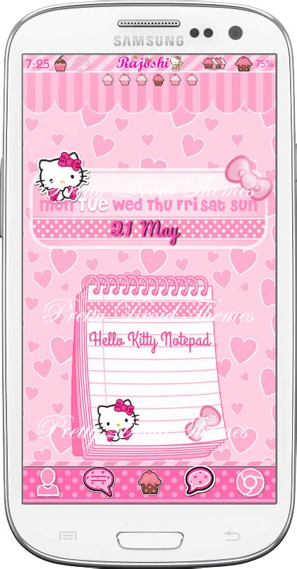 uccw hello kitty themes hello kitty pink widget pack adorable widgets uccw