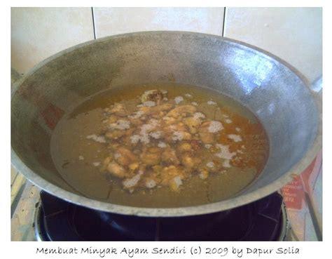 Minyak Goreng Jember dapur solia membuat minyak ayam