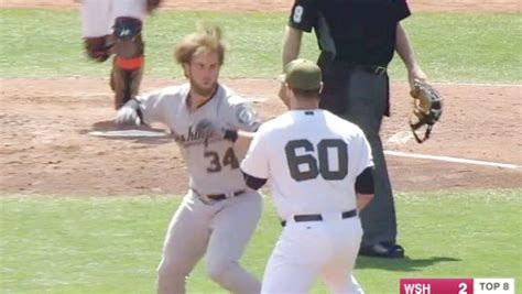 bench brawl nationals slugger bryce harper suspended four games for