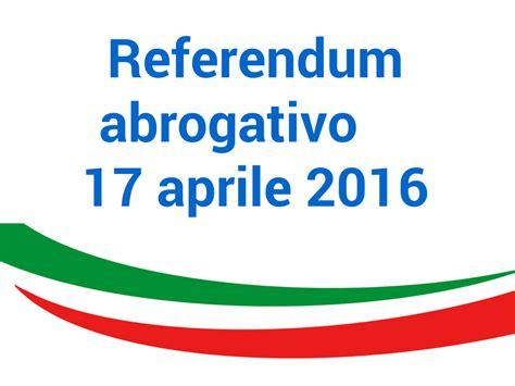 Popolare Di Orari Apertura Referendum Popolare 17 Aprile 2016 Apertura Ufficio