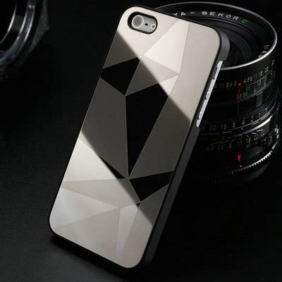 Casing Mirror Back Cover Iphone 5 5s D aliexpress buy mirror stylish aluminum phone for iphone 5 5s 5g se luxury back