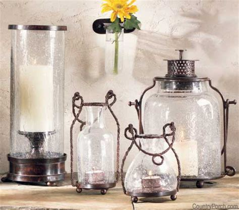Candle Accessories Glass Seed Glass Candle Accessories