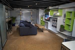 Basement Floor Finishing Ideas Basement Decorating Ideas With Modern And Rustic Themes