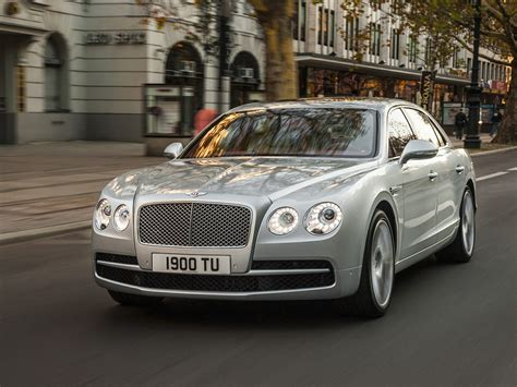 hovering bentley 2017 bentley flying spur w12 s laughs at the 200 mph