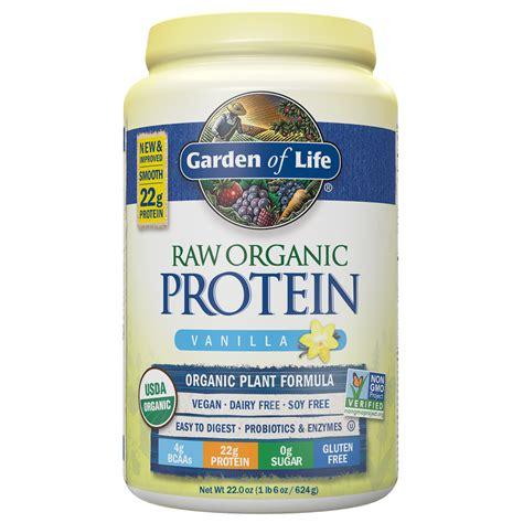 Garden Of Protein Review Organic Protein Powder Garden Of