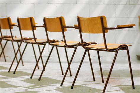 vintage len marktplaats retro vintage schoolstoelen met armleuningen jaren 50 60
