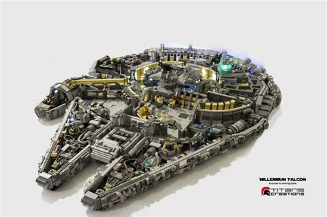 best lego millenium falcon there s an amount of detail in this 10 000