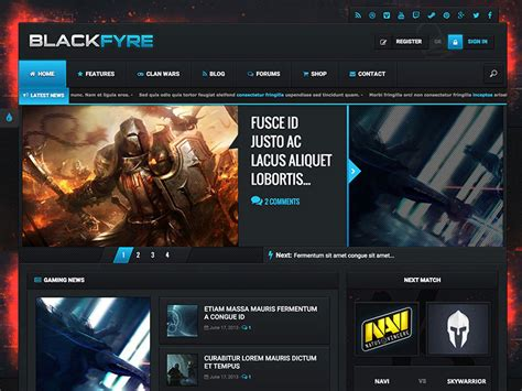 best themes in games top ten wordpress theme for gaming web hosting blog by