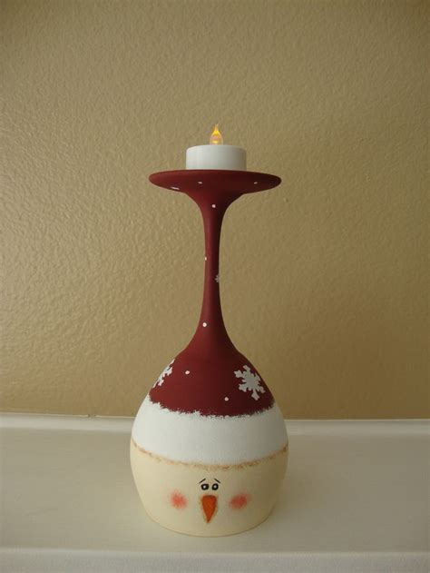 wine glass craft projects best 20 glass candle ideas on glass candle