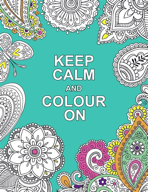 keep calm and color on keep calm and colour on