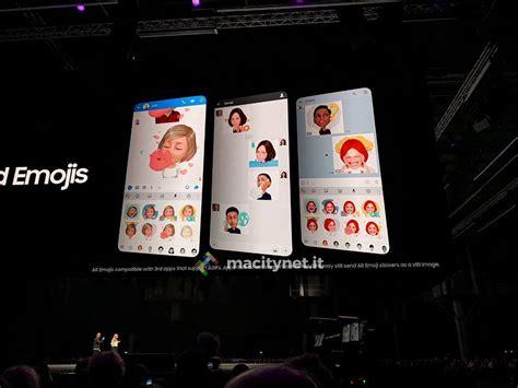 emoji di samsung ecco le ar emoji di galaxy s9 la risposta di samsung alle