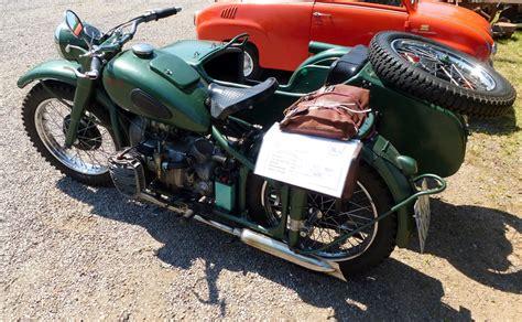 Oldtimer Motorrad Nachbau by M72 Motorrad Mir Seitenwagen Aus Der Ehemaligen