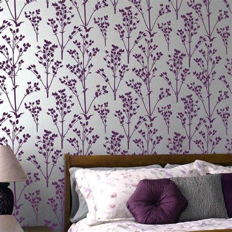 pattern for wall stencil sprigs allover stencil pattern floral wall patterns