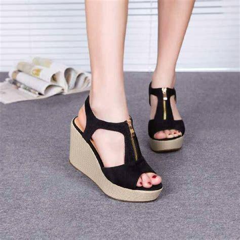 Sepatu Wanita Wedges Nyy 50 Putih ryn fashion belanja puas harga pas