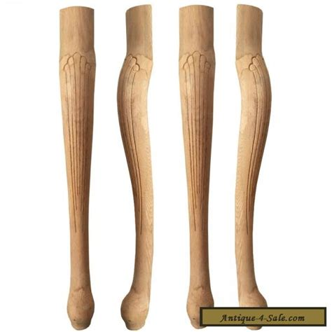 table legs for sale set of 4 unfinished solid oak style table legs