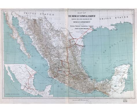 mexico detailed map maps of mexico detailed map of mexico in