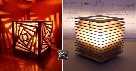 lampadari fai da te realizzati  il cartone  idee