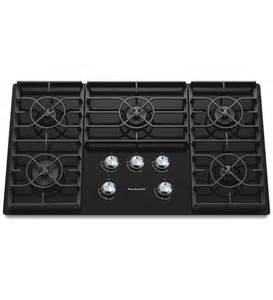 gas cooktop 5 burner 36 inch 5 burner gas cooktop architect 174 series ii