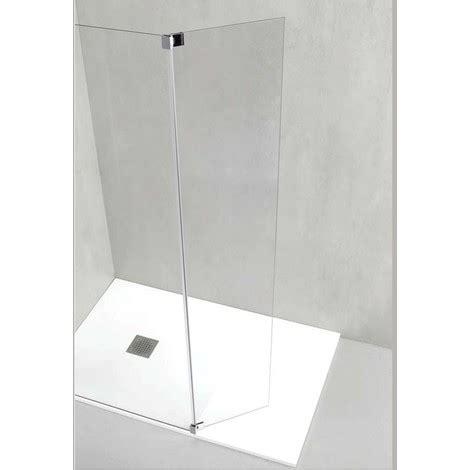 docce a parete parete doccia a muro con sistema walk in italo laterale