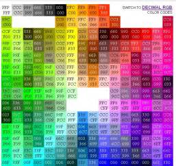 color code in html html color codes web design