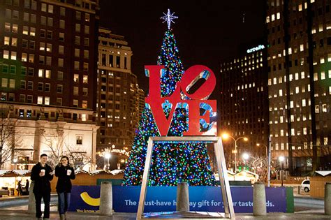 photo of the day merry christmas philadelphia