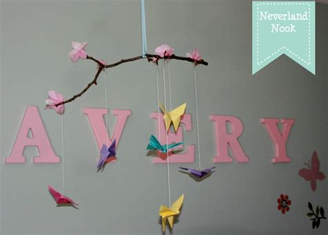 How To Make A Paper Butterfly Mobile - craftionary